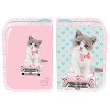 PASO - Školní penál Studio Pets Kočka - prázdný růžový