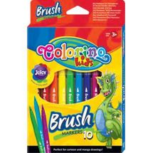 PATIO - Colorino fixy štětcové 10 barev
