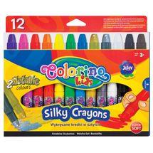 PATIO - Colorino pastelky gelové vysouvací SILKY 12 barev