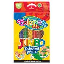 PATIO - Colorino pastelky Jumbo SMALL HANDS 6 barev