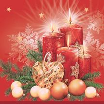 PAW - Papírové vánoční ubrousky SDGW 003202