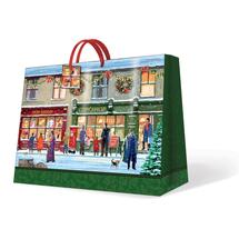 PAW - Vánoční taška Winter Shopwindow velká podélná 26,5 x 33 x 13,5 cm