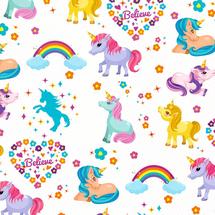 POL-MAK - Dětský dárkový papír 38170 Ponny - 100x70 cm