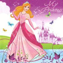 POL-MAK - Papírové ubrousky Beautiful Princess