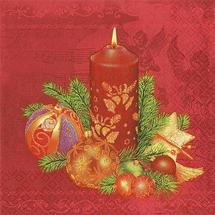 POL-MAK - Papírové vánoční ubrousky SDGW 001901