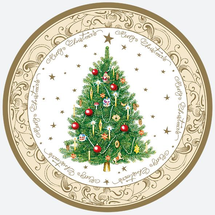 POL-MAK - Papírové vánoční talíře - GW 25360