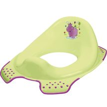 PRIMA BABY - Adaptér na WC Hippo - zelený
