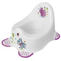 PRIMA BABY - Dětský nočník Hippo - bílý