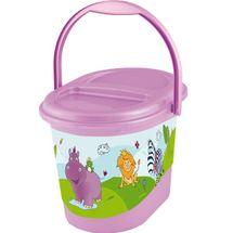 PRIMA BABY - Koš na pleny Hippo - Světlo fialový