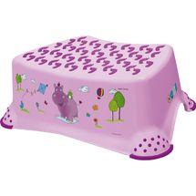 PRIMA BABY - Schůdek k umyvadlu / WC Hippo - světle fialový
