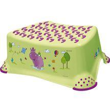 PRIMA BABY - Schůdek k umyvadlu / WC Hippo - zelený