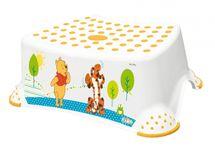 PRIMA BABY - Schůdek na WC / umyvadlo Winnie Pooh - bílý