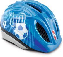 PUKY - Přilba -  modrá Fotbal - velikost M / L
