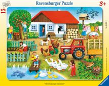RAVENSBURGER - Co kam patří? 15dílků