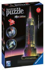 RAVENSBURGER - Puzzle 3D Ravensburger Empire State Building - noční edice 216