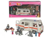 SIMBA - Máša a medvěd Ambulance hrací set