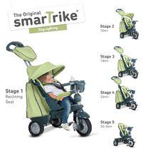 SMART TRIKE - Tříkolka Explorer 5 v 1, zelená