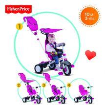 SMART-TRIKE - tříkolka Fisher Price 320 Charisma 4v1 Růžová