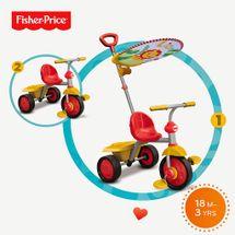 SMART-TRIKE - tříkolka Fisher Price 330 Glee Plus 2v1 Červeno-žlutá
