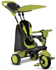 SMART TRIKE - Tříkolka Spark - Black / green
