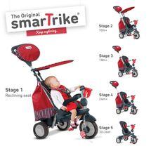 SMART TRIKE - Tříkolka Splash - Červená