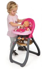 SMOBY - 220310 jídelní židlička Baby Nurse pro panenku
