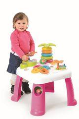 SMOBY - Cotoons Multifunkční Hrací Stůl Růžový