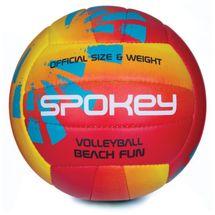SPOKEY - BEACH FUN Volejbalový míč červeno-žlutý č.5