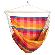 SPOKEY - BENCH DELUXE KÁRO Houpačka sedátko pro dva, do 160 kg,  barevný mix