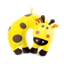 SPOKEY - BAMBINI Cestovní polštářek dětský mikrokuličky žirafa