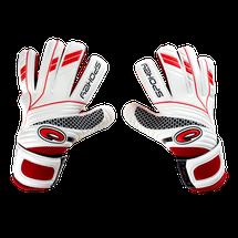SPOKEY - FORCE Brankářské  bílo-červené rukavice roz.6