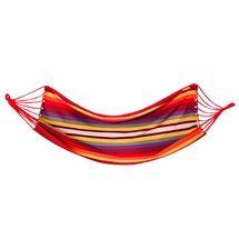 SPOKEY - IPANEMA Houpací síť; 100x200cm, červená - žlutá