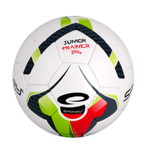 SPOKEY - JUNIOR TRAINER Fotbalový míč zeleno-červený vel.4