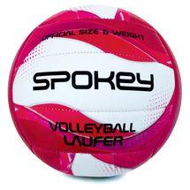 SPOKEY - LAUFER volejbalový míč bílo-růžový vel. 5