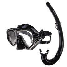 SPOKEY - MOANA šnorchlovací sada brýle + šnorchl černá