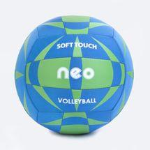 SPOKEY - NEO SOFT neoprenový volejbalový  míč modro-zelený roz. 5
