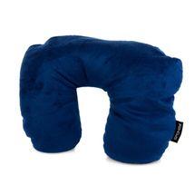 SPOKEY - ORIGAMI - cestovní polštářek 2 v 1 - teplá a chladivá strana modrý