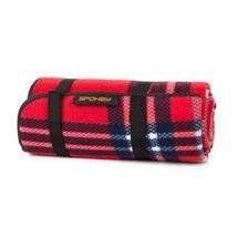 SPOKEY - PICNIC HIGHLAND Pikniková deka s popruhem  130 x 150 cm