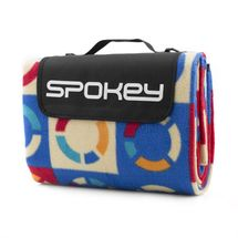 SPOKEY - PICNIC LIFEBUOY Pikniková deka s popruhem, 180x210 cm