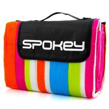 SPOKEY - PICNIC RAINBOW Pikniková deka  s popruhem , 180x210 cm