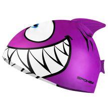 SPOKEY - REKINEK-Plavecká čepice ŽRALOK fialová