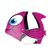 SPOKEY - RYBKA- Dětská plavecká čepice růžová
