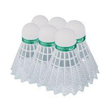 SPOKEY - SHOOT GREEN-Badmintonové míčky 6ks nylonové