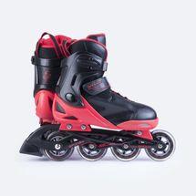SPOKEY - SPOOX kolečkové brusle černá-červená  ABEC7 Carbon vel.36-39