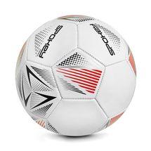 SPOKEY - Spokey STENCIL Fotbalový míč vel. 5 bílo-červený