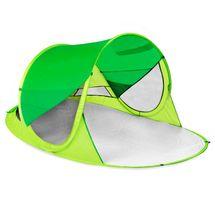 SPOKEY - STRATUS Samorozkládací plážový paravan, UV 40, 190x120x90 cm - zelený