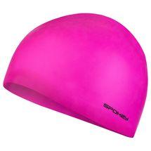SPOKEY - SUMMER-Plavecká čepice silikonová růžová