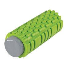 SPOKEY - TEEL 2 v 1 fitness pěnový válec zelený