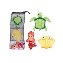 SPOKEY - ZOO 1 Hračky pro potápění - želva, mušle, mořská panna