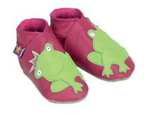 Starchild - Kožené botičky - Frog Fuchsia Kids - velikost XS - 24-25 (2-3 roky)